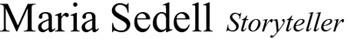 Maria Sedell Logo